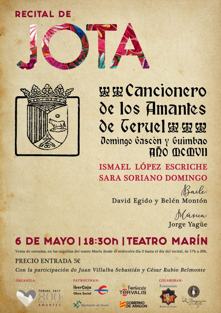Recital de Jota