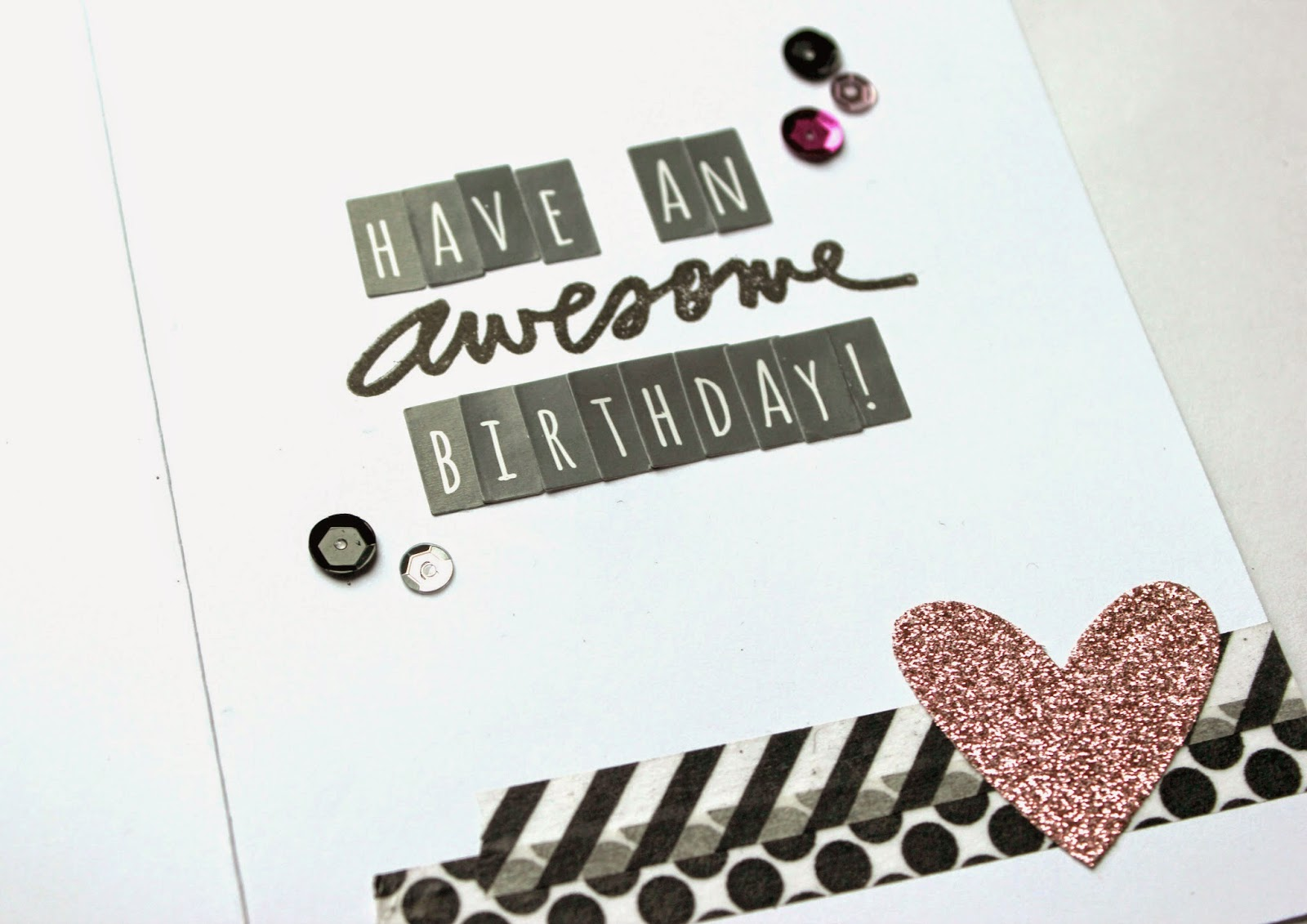 Simply Meant to... Have an Awesome Birthday\