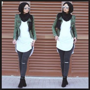 Trend busana hijab 2017