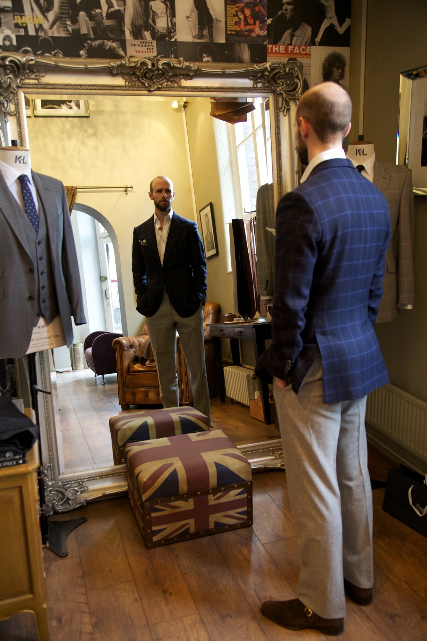 Thom Sweeney jacket and trousers – Permanent Style