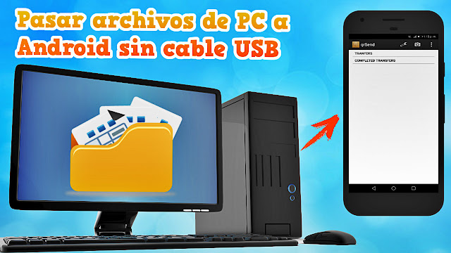 pasar archivos sin cable usb
