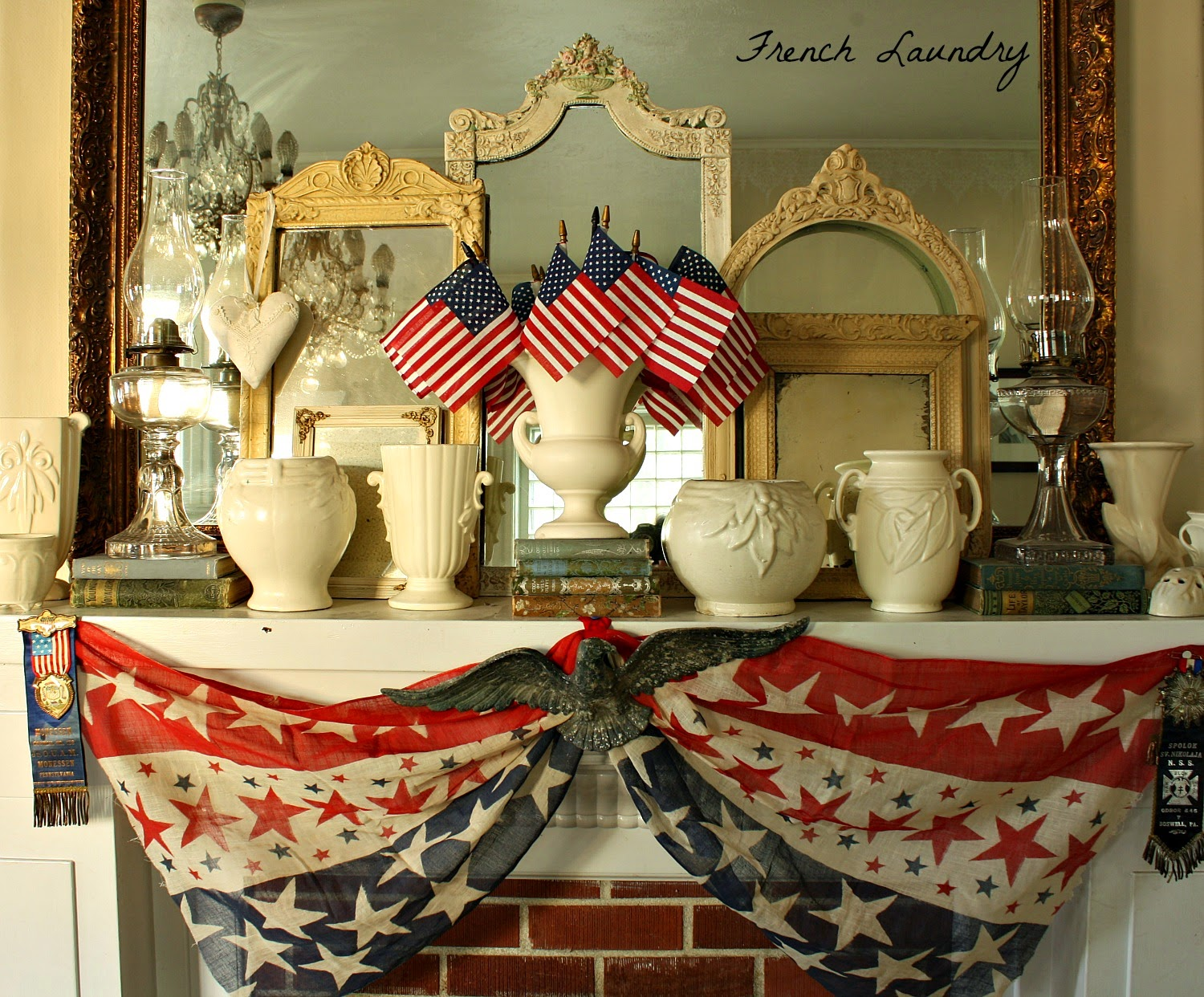 French Laundry July 4th Decor For The First Time In A Long Time