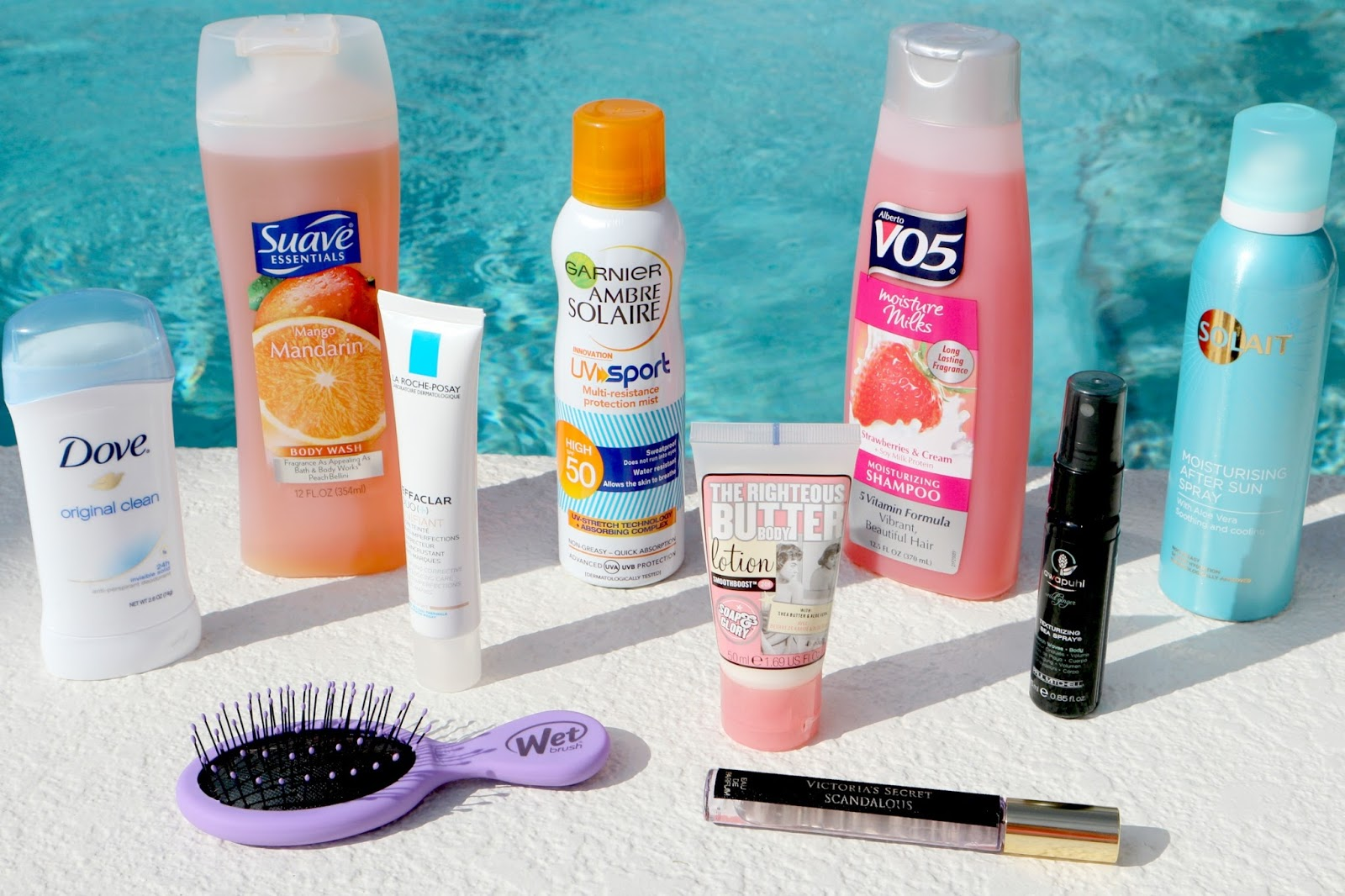 Beauty Essentials Travel Holiday Vacation