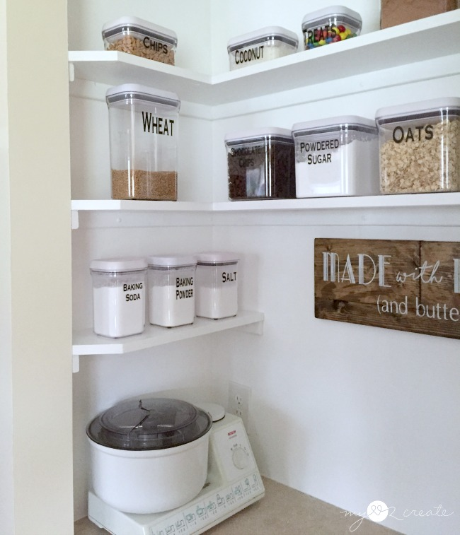 Turn your Pantry into a Baking Center, MyLove2Create