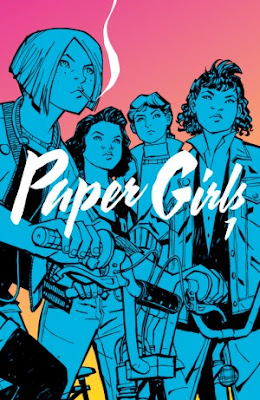 Book Review, Paper Girls Vol. 1, Paper Girls #1-5, Brian K. Vaughan, Cliff Chiang, Matthe Wilson, InToriLex
