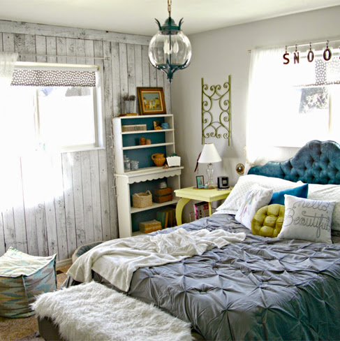 I'm Featured - Boho Master Bedroom