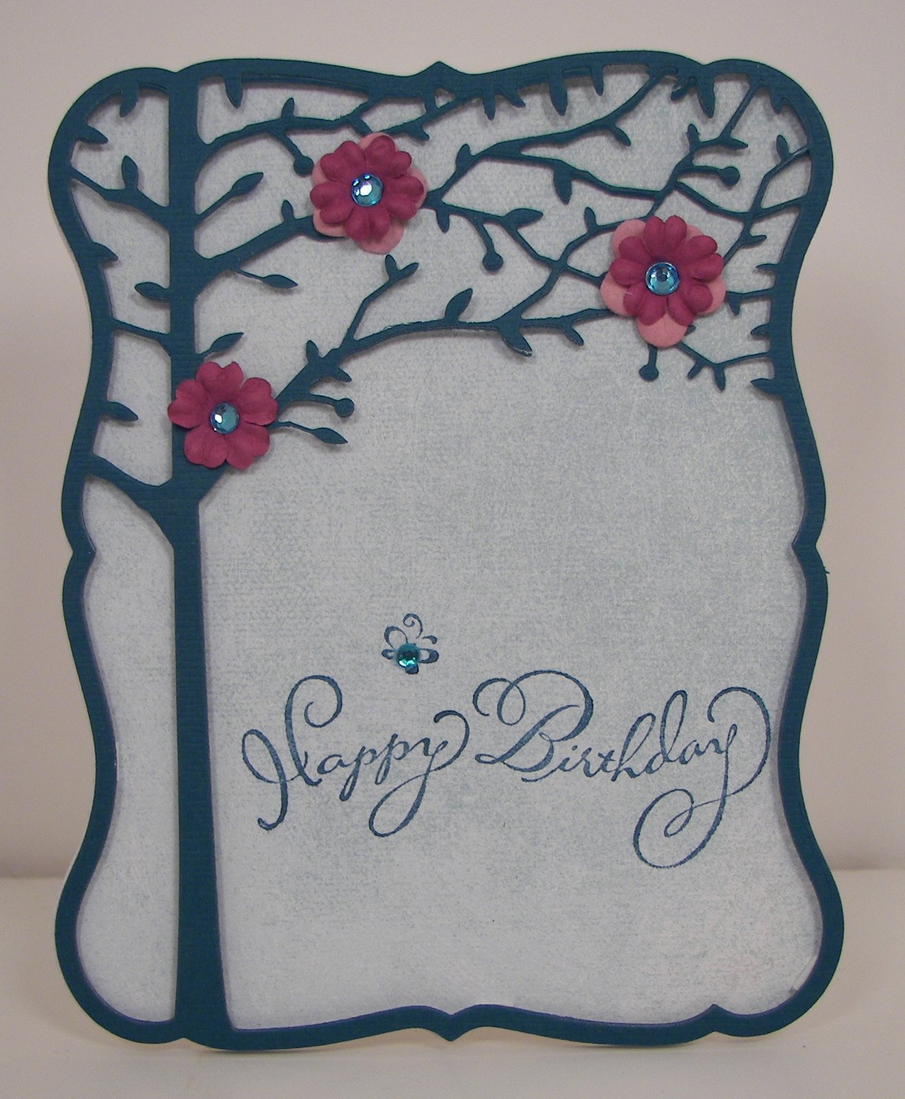 Jane's Crafty Cabin: An Early Happy Birthday, Marie