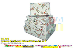 Hantaran Box Shabby Chic And Vintage Set Isi 4