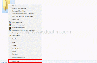 Cara mengganti icon folder komputer tanpa software 2