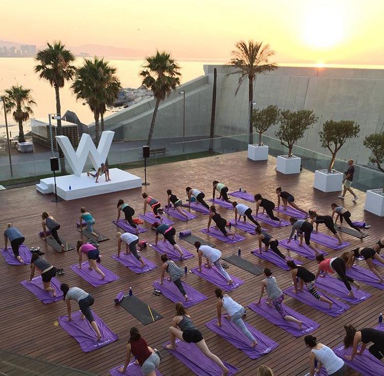 yoga w barcelona
