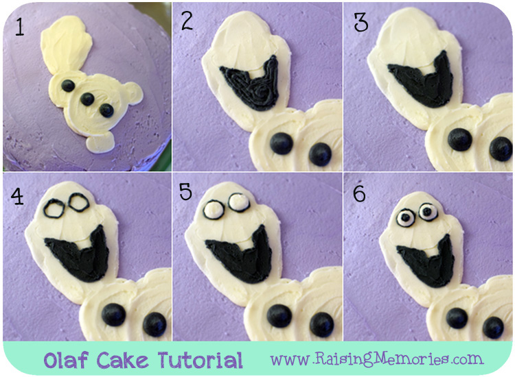 Easy Frozen Cake Tutorial