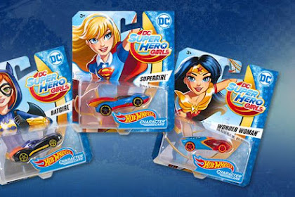 HW Caracter Cars : DC Super Hero Girls 2017