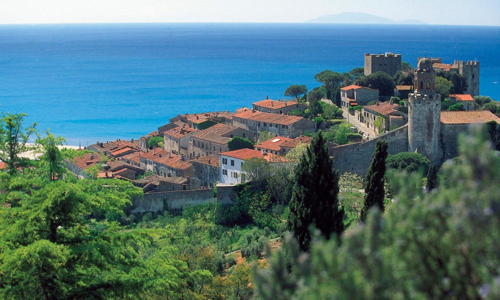 Castiglione della Pescaia Italy Beautiful Coastal Village