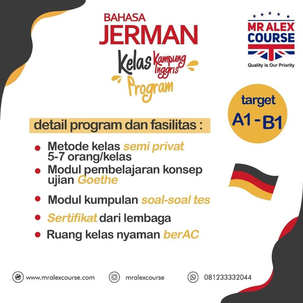 Program Kursus Jerman di Pare