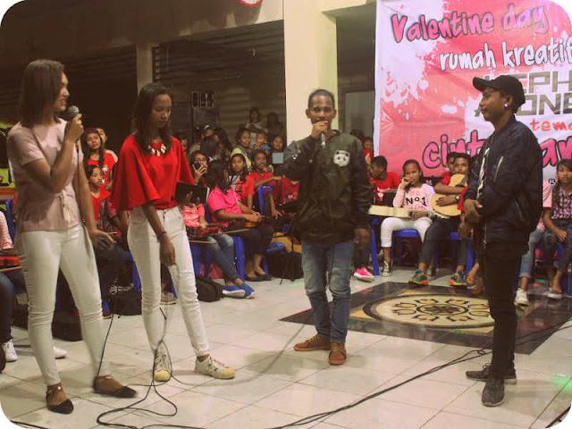 Kegiatan Hip-Hop Asongan ini melibatkan seluruh siswa-siswi SMA, SMK dan Perguruan Tinggi di Kota Saumlaki, Kabupaten Maluku Tenggara Barat (MTB), Provinsi Maluku.