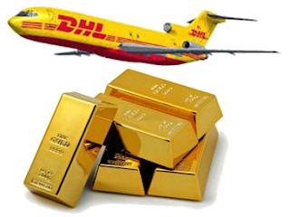 Gold DHL
