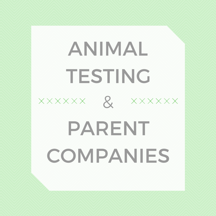 Animal Testing and Parent Companies