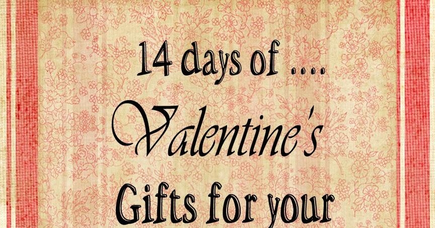 14 days of Valentine's Day!