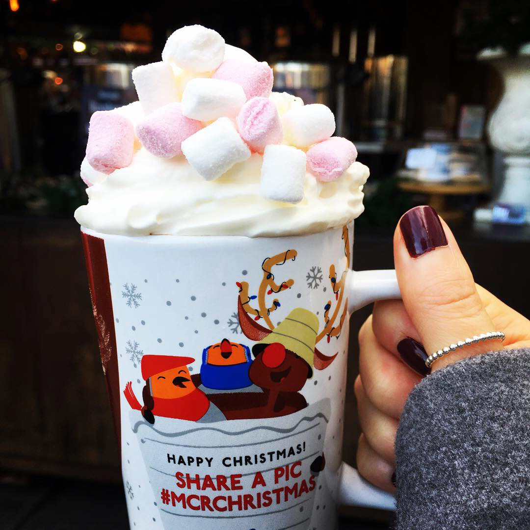 Manchester Christmas Markets Hot Chocolate