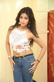 Deekshita Parvathi in a short crop top and Denim Jeans Spicy Pics Beautiful Actress Deekshita Parvathi January 2017 CelebxNext (244).JPG