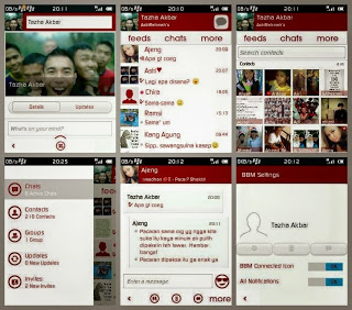 BBM MOD GINGERBREAD ELEGANT RED