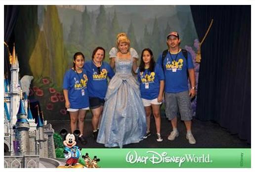Cinderella, no Magic Kingdom, em 2013