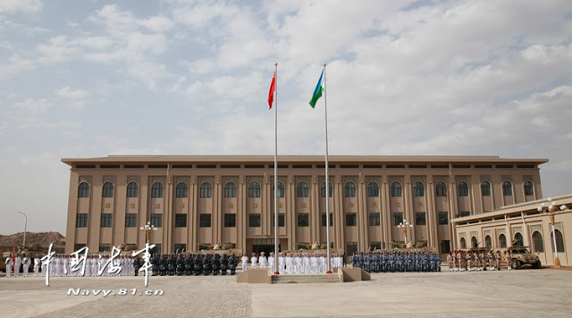 Image Attribute: A Chinese national flag ceremony and a military parade were held in the barracks / Source: China Defense Blog