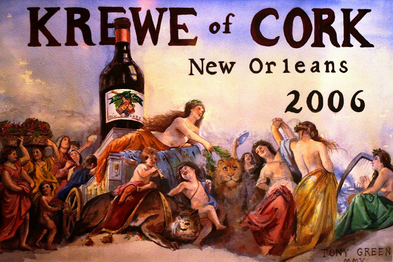 Krewe of Cork Mardi Gras New Orleans