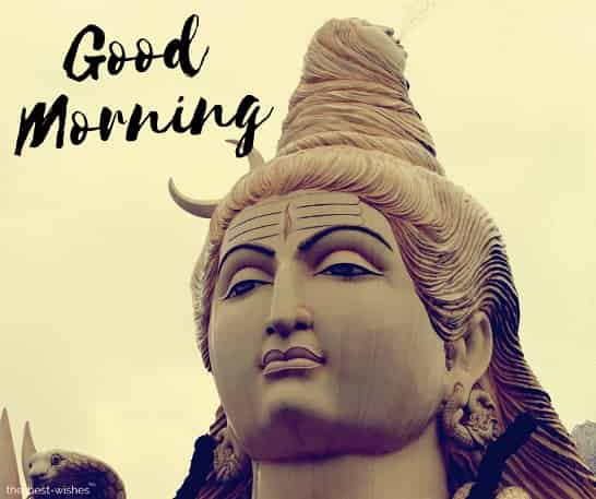 good morning wallpaper of lord shiva