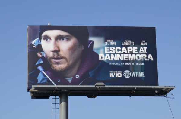 Paul Dano Escape at Dannemora billboard