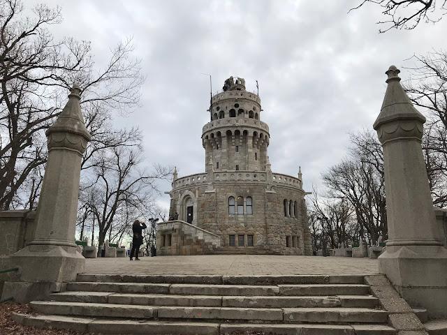 belvédère Erzsébet Budapest Hongrie
