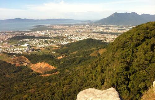 Vista do Morro Cambirela – Palhoça
