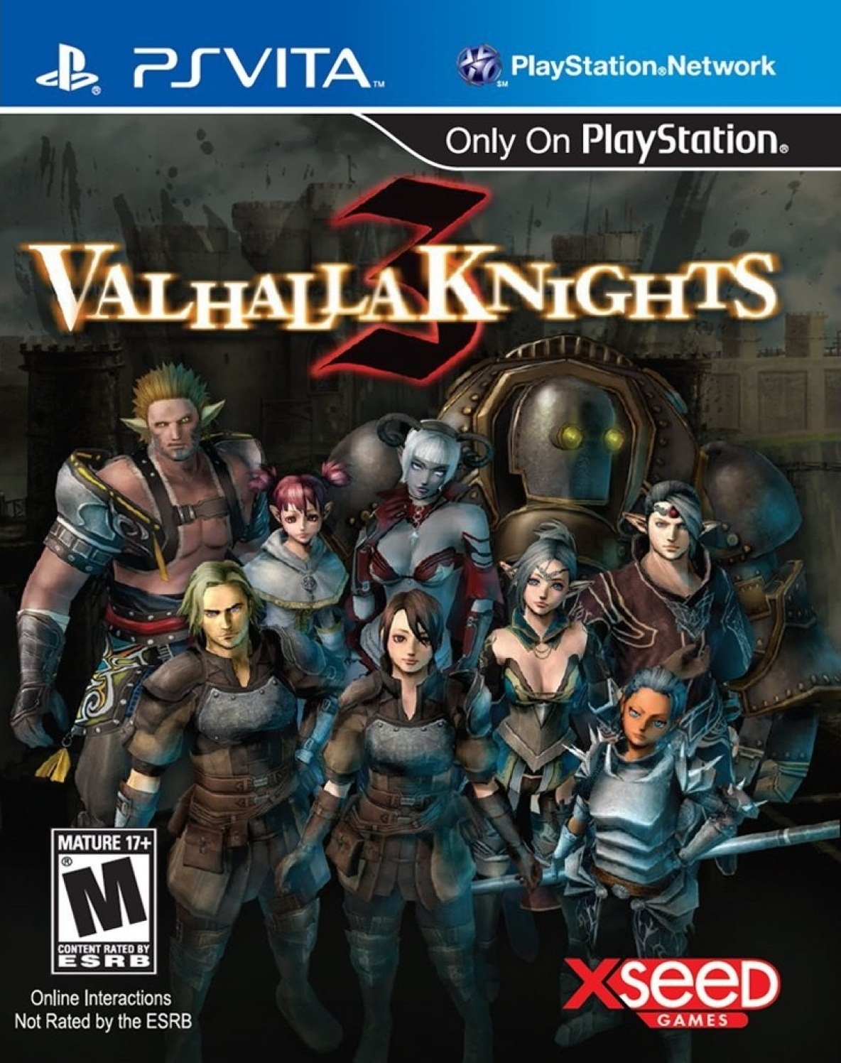Valhalla Knights 3 PCSE00244 ~ Aichiter