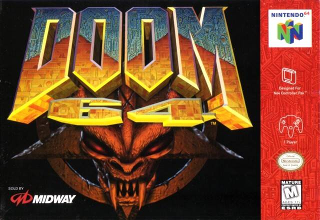ROMs - Doom 64 (Português) - N64 Download