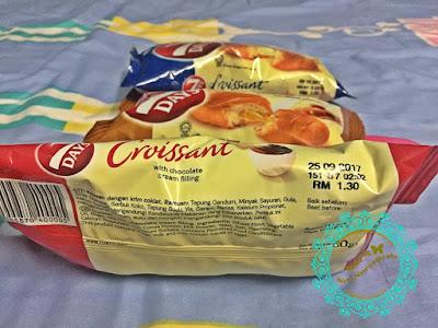 croissant Munchy's, product Munchy's, roti terbaru, on-the-go, flavor yang sedap, variasi perasa, caramel, chocolate, vanilla, senang, mudah, cepat, sam's groceria, sunway carnival mall, seberang jaya,