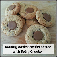Biscuits, with title overlaid