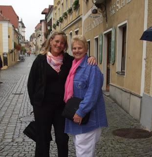 Midlife travel - Durnstein with my mum