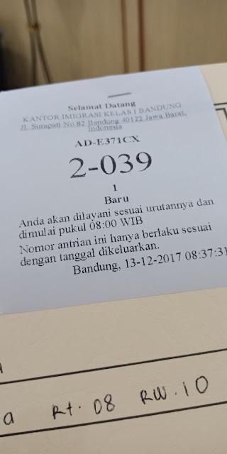 Bagaimana Cara Membuat Paspor Dengan Antrian Online Di Bandung