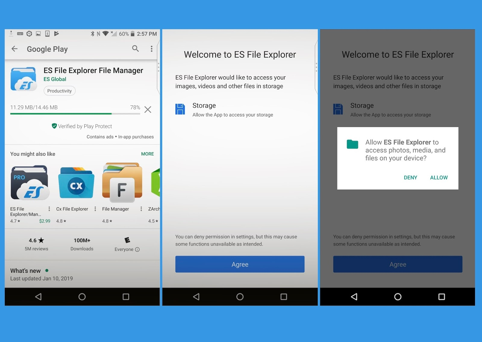 Security expert shows how popular app ES File Explorer exposes Android device data