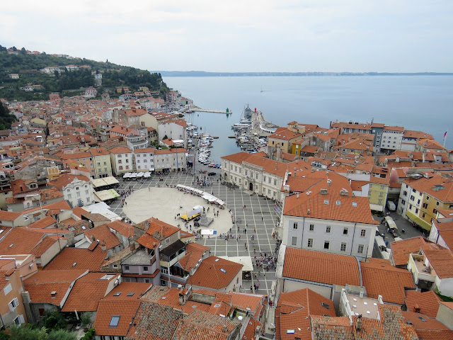 Things to do in Piran Slovenia: walk the hilly streets