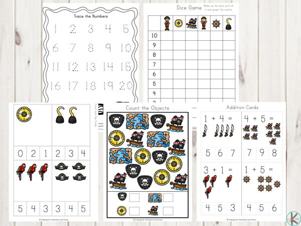 pirate-math-worksheets-counting-trace-the-number-graphing-addition