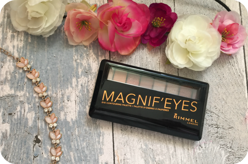 rimmel magnif'eyes london nudes calling review