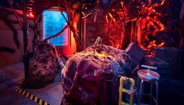 Stranger Things (Full Maze) Halloween Horror Nights at Universal Studios Hollywood