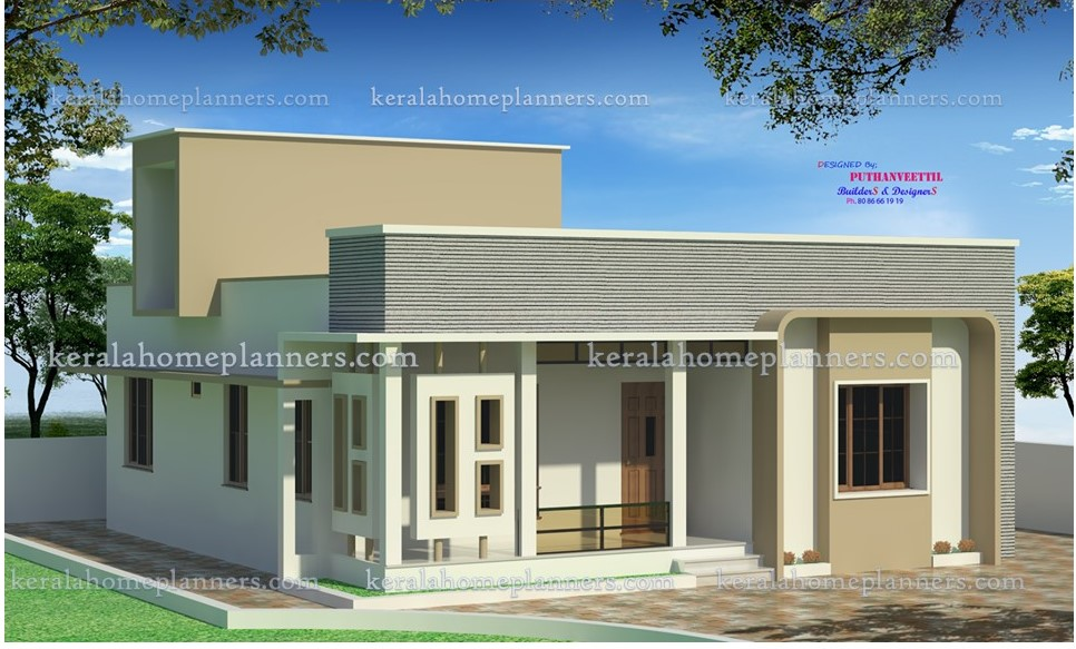 Modern contemporary 3 bedroom home in 1300 sqft in 16 for Cost to build 1300 square foot house
