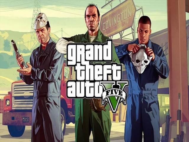 تحميل لعبة جاتا 5 للكمبيوتر مجانا Download GTA 5