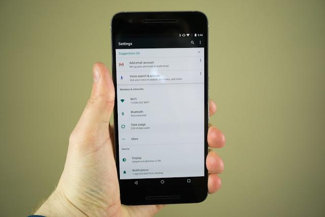 Pengaturan Android N