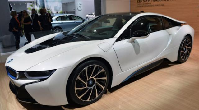 2017 BMW i8S Exterior