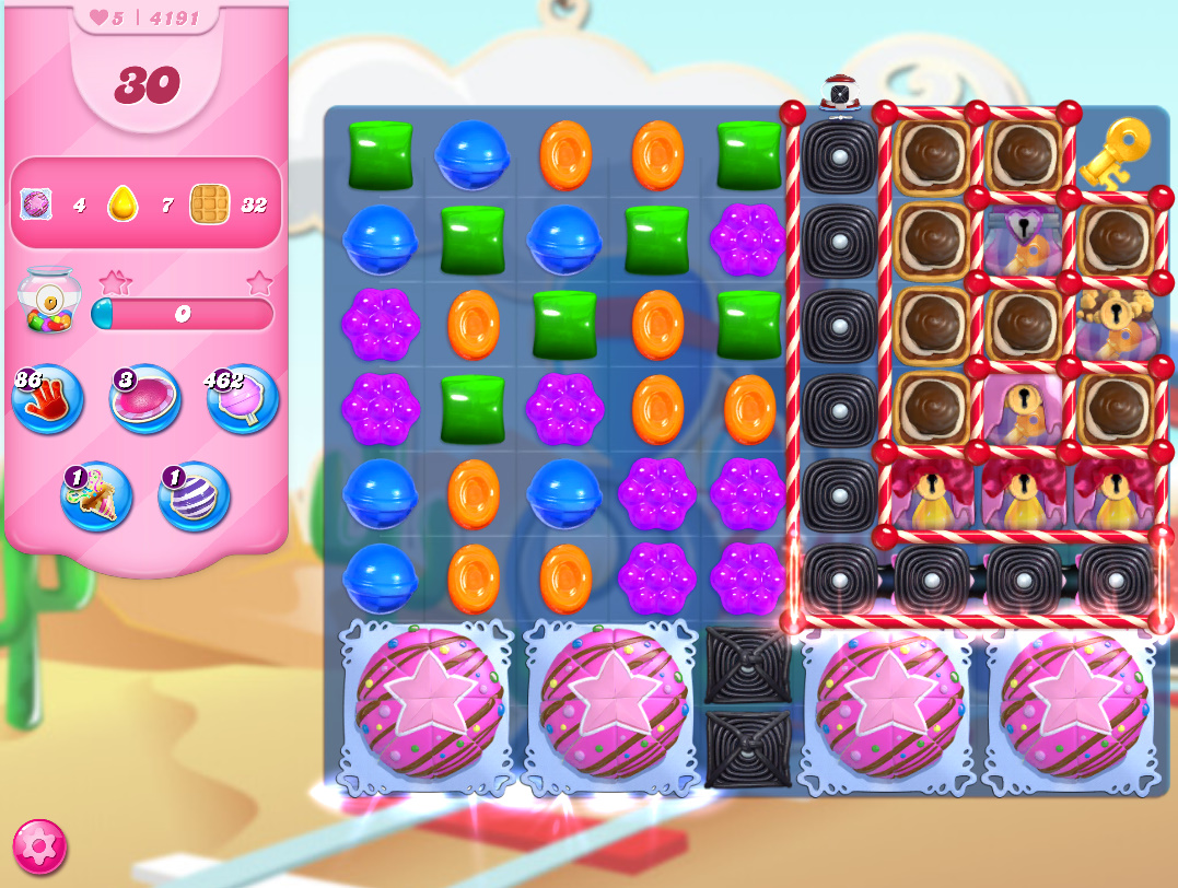 Candy Crush Saga level 4191