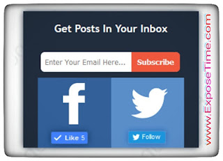 Stylish-email-subscription-widgets-for-blog