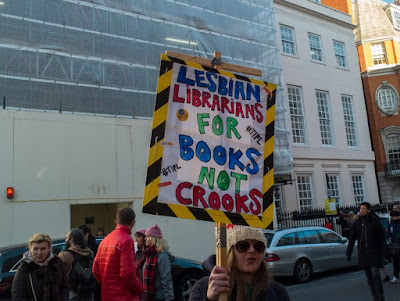 Lesbian librarians for books, not crooks